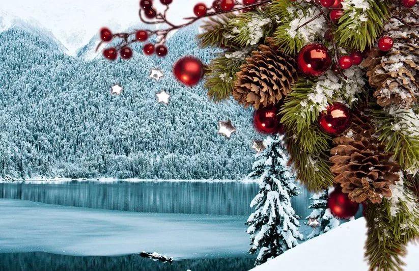Новый год в Абхазии!