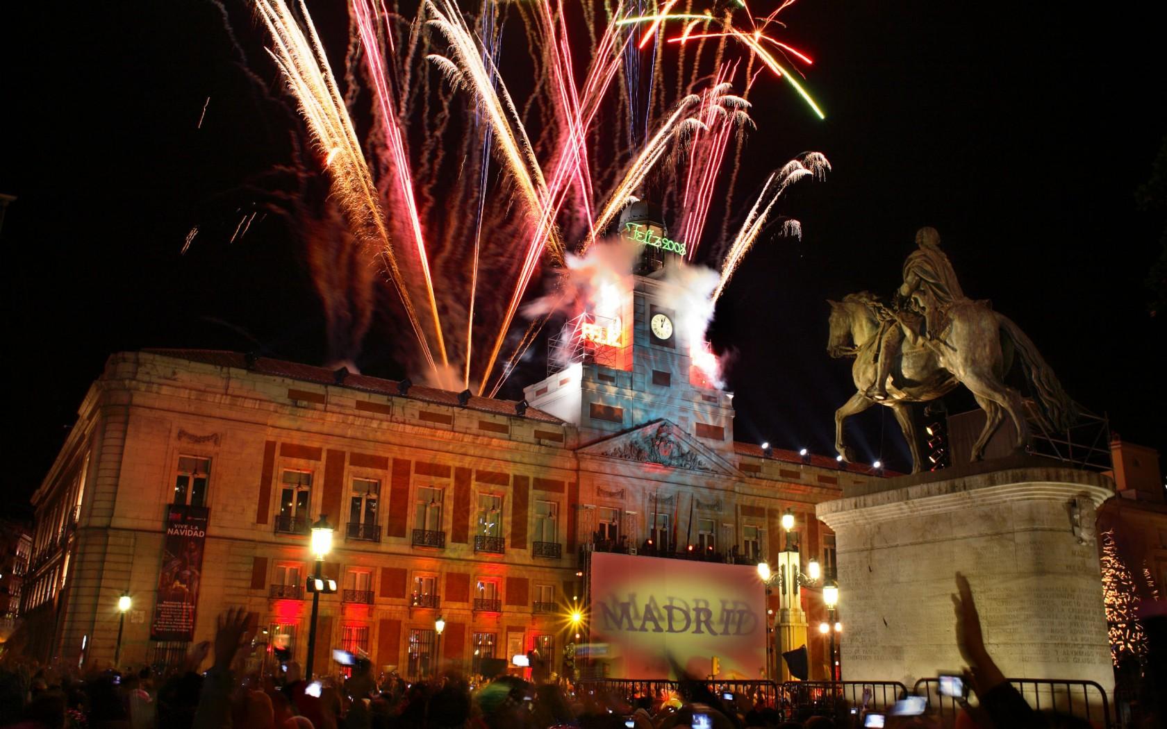 Новый год в Мадриде!