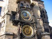 Часы на ратуше в Праге