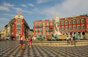 Площадь в Ницце