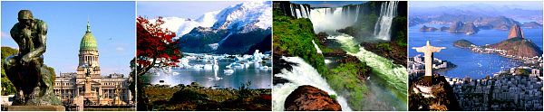 Аргентина-Бразилия: От льда к солнцу (Буэнос-Айрес - Калафате - Водопады Игуассу - Рио де Жанейро).