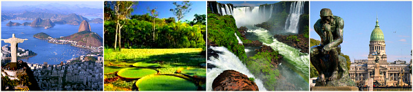 Бразилия - Аргентина: Рио де Жанейро-Амазония-Водопады Игуасу-Буэнос-Айрес