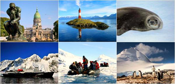 Белый континент и Южные о-ва (Буэнос-Айрес - Ушуайя - круиз в Антарктиду и на Южные Шетландские о-ва)