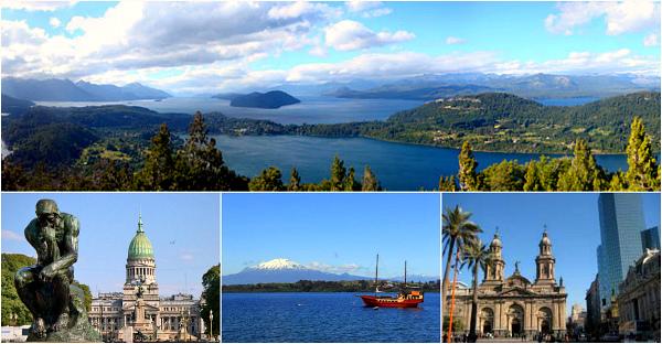 Горы и озера Аргентины и Чили (Буэнос-Айрес - Барилоче - Пуэрто Варас - Пуэрто Монт - Сантьяго)