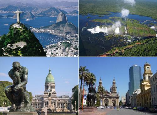 Солнце, танго и вино: Бразилия-Аргентина-Чили.
