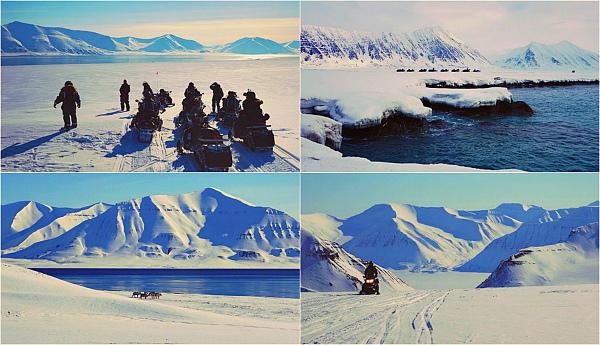 Шпицберген. От Свальбарда до Груманта. Тур на снегоходах.