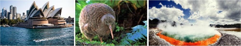 Жемчужины Австралии и Новой Зеландии: Сидней - Кейрнс - Окленд - Роторуа - Квинстаун.