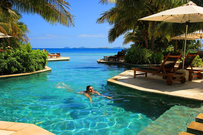 Отдых на островах Фиджи.