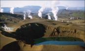 Исландия - страна гейзеров, они находятся повсюду