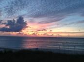 Закат на острове Парадайз