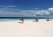Знаменитый пляж Pink Sands