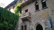 Знаменитый балкон Джульетты в Вероне