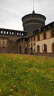 Милан. Замок Сфорца