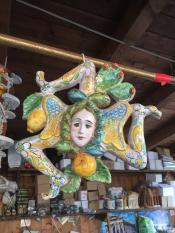 Герб Сицилии с тремя ногами