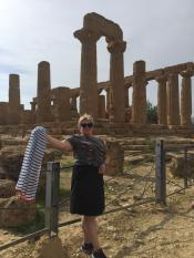 Агридженто - символ Сицилии, это самый настоящий античный греческий храм 6 век до н.э.