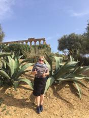 Я в Агреженто - символе Сицилии