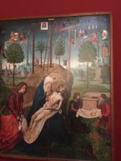 Удивительная икона 14 века, где с помощью символов изображены все главные события Евангелия. 15 век