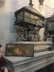 Мощи Марии Магдалины в Кафедральном Соборе Палермо
