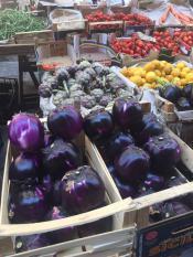 Катания, овощной рынок