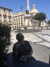 Сицилия. Катания. Главная площадь.