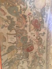 Напольная мозаика 3 века н.э. на императорской вилле. Сцены охоты.