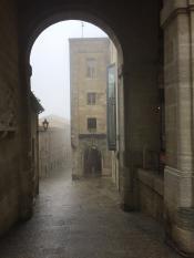 Сан-Марино в утреннем тумане