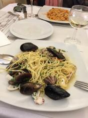 Обед в Пизе