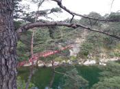 Мост через озеро Самир
