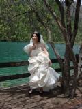 Китайская невеста на фотосессии