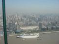 Шанхай с высоты смотровой башни