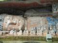 Огромный лежащий каменный Будда