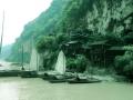 Небольшая деревня у реки Янцзы