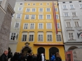 Дом Моцарта в Зальцбурге. Австрия