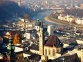 Вид на Зальцбург. Австрия