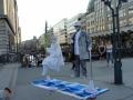 Уличные фокусники в Гамбурге. Автор: Куликова Лидия, г.Истра