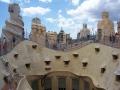 На крыше Ла Педрера