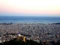 Барселона. Панорама города