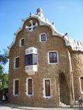 Пряничный домик в Парке Гуэля
