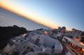 Закат в Ие, Санторини