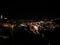 Санторини, Ночная Фира. Автор: Алексей Зинаков, г.Брянск