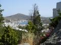 вид на портовый городок Скала