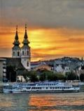Закат над Будапештом, автор: Светлана Коновалова, г.Москва