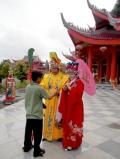 Подготовка к церемонии в даосском храме