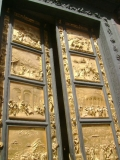 Флоренция. Баптистерий. Врата Рая