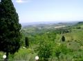 Панорама окрестностей Тосканы