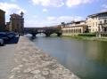 Флоренция, вид на Понте Веккьо
