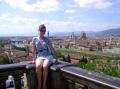 Вид с площади Микеланджело во Флоренции
