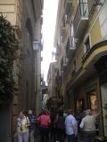 Торговая улица в г. Сорренто