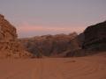 закат в пустыне Вади Рам