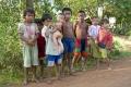камбоджийские ребятишки